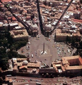 Il-tridente-di-Piazza-del-Popolo